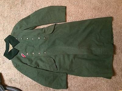 1937 dated  german enlisted overcoat in excellent shape, no shoulder boards