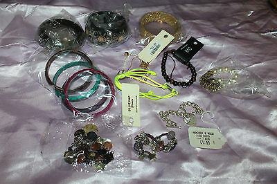 Job lot of 10 New Bracelets and Bangles - great for resale