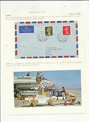 Cyprus 1971 FPO 388 cover   written up