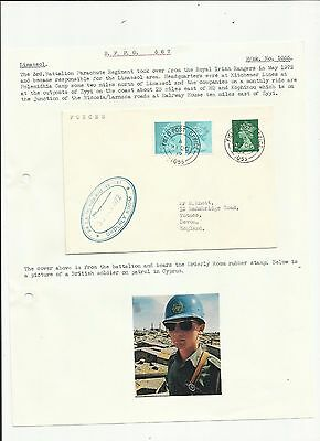 Cyprus 1975 FPO 1055 cover   written up