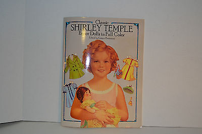 Classic Shirley Temple paperdolls in excellent condition many costumes/outfits