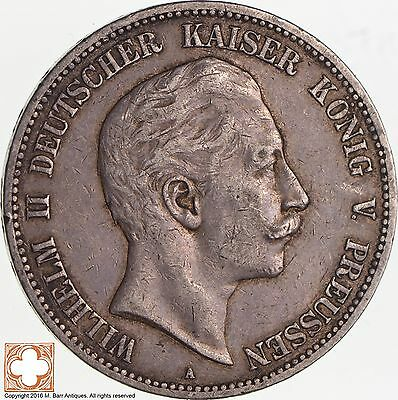 1903-A German States Prussia 5 Mark *2861
