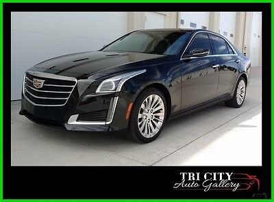 2016 Cadillac CTS CTS4 All Wheel Drive 2.0L Turbo Luxury 2016 Cadillac CTS AWD Turbo