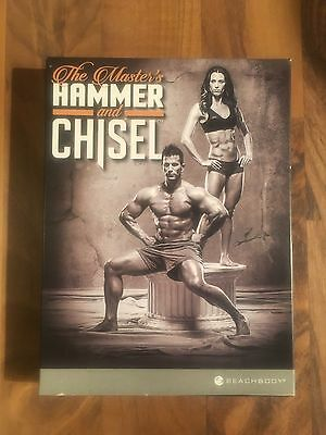 Beachbody Hammer And Chisel Fitness DVD Set From The Makers Of T25 Cize And Piyo