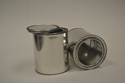 1 Quart Unlined Paint Can with Lid, without handle. Case of 76