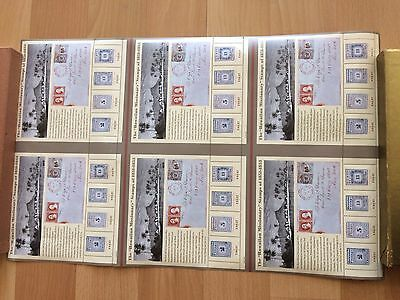 USA Hawaiian Missionaries 2002 Uncut Press Sheet plus S/S with 4 stamps MNH