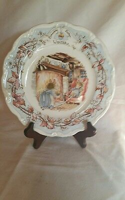 royal doulton brambly hedge winter plate