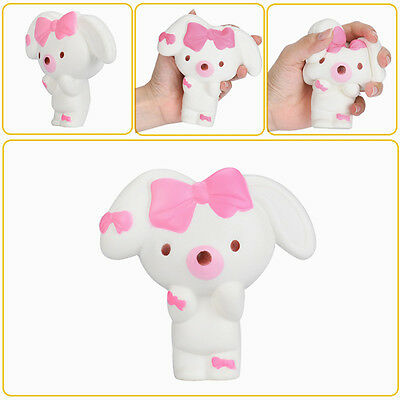 Squishy Nurse Rabbit Jumbo Bunny 12cm Slow Rising Cute Collection Decor Gift Toy