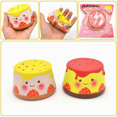 Areedy Squishy Pudding 10cm Slow Rising Original Packaging Collection Gift Decor