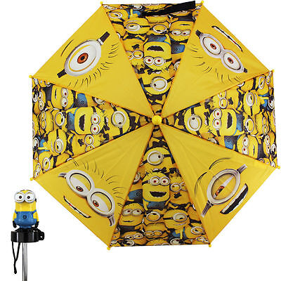 New Despicable Me 2 Minion Madness All Over Yellow Umbrella
