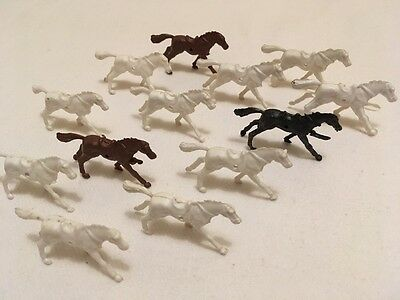 Vintage Small Toy Horses x 13