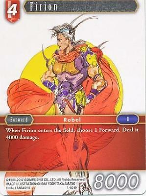 Firion - 1-021H Hero - NM - Final Fantasy TCG - OPUS 1