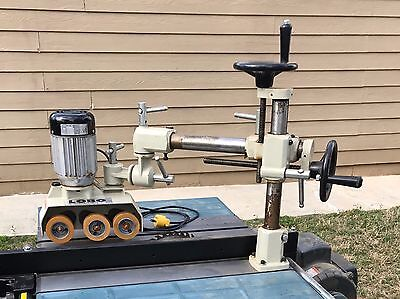 LOBO MACHINERY POWER FEEDER 1/4 HP, 110V, 3.5 Amp, 4 SPEED 3 ROLLERS