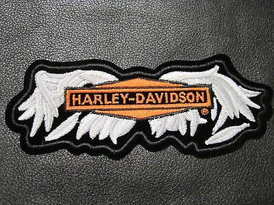 Harley Davidson Patch Gothic Wings Med. Size Great Colors Look And Buy Vest Item