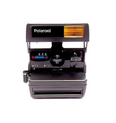 Polaroid One Step Close Up 636 Point And Shoot Instant Camera 600 Type