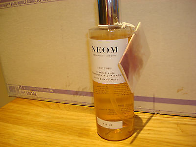 neom body hand wash sensuous ylang frankincense & patchouli