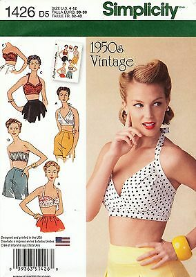 Simplicity Pattern 1426 Halter Top Sized to Fit My Size Barbie