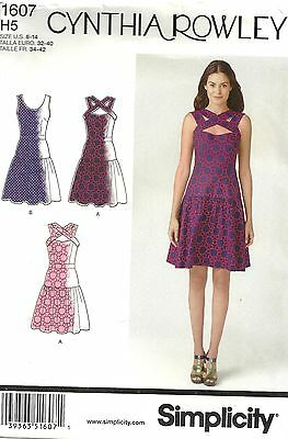 Simplicity Pattern 1607 Dress Sized to Fit My Size Barbie