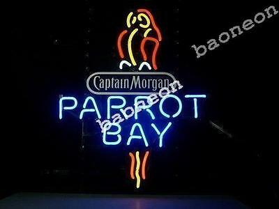 Captain Morgan Parrot Bay BEER BAR PUB NEON LIGHT SIGN Fast Free Shipping