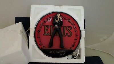 Bradford Exchange Light Up Plate Elvis Presley in the Spot Light