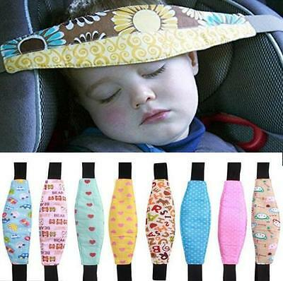 NEW Baby Child Head Support Stroller Buggy Pram Car Seat Belt Sleep Safety Strap