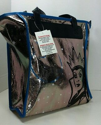Disney Parks Evil Queen Authentic Purse/Tote Silver Bag New w/ Tag Free Shipping