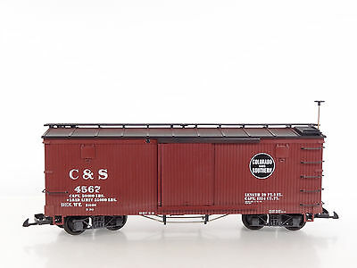 LGB G Scale Colorado and Southern C&S Box Car Item 45670 New