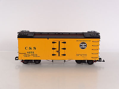 LGB G Scale Colorado and Southern C&S Reefer Car Item 42720