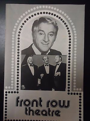 1977 Danny Thomas & The Mills Brothers at Front Row Theater Playbill