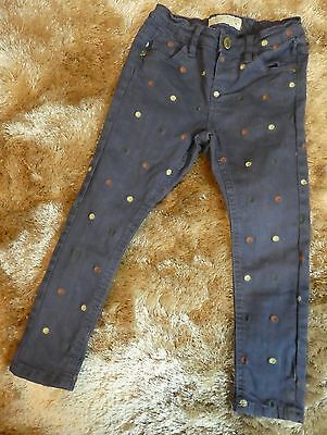 zara baby girl collection skinny jeans age 2-3 years