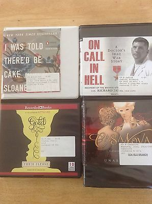 Lot of 4 - Books by Cleave, Masters, Crosley, Jadick - ex library