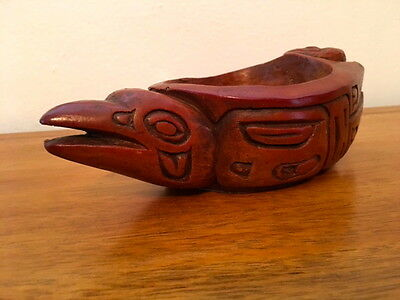 Pacific Northwest Native American Wooden Ceremonial Vessel