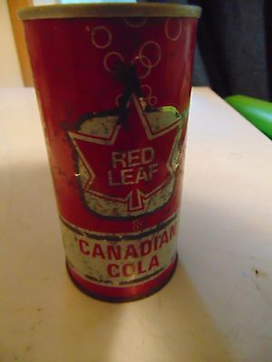 Rare Red Leaf Canadian Cola Can