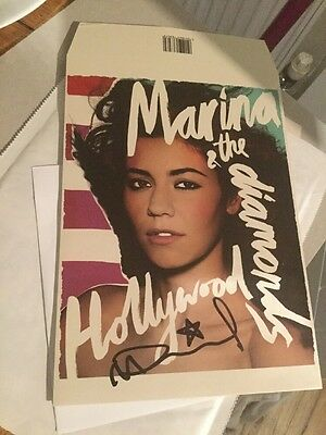 "Marina And The Diamonds - Hollywood - Signed 7"" Envelope Sleeve Including Vinyl"