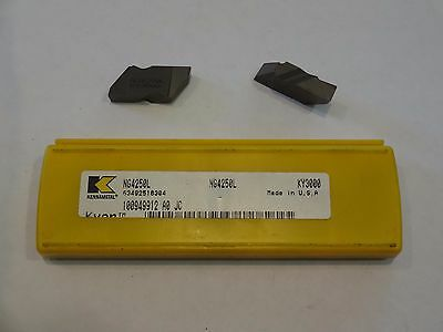 (Lot of 16) Kennametal NG4250L KY3000 Cermet Ceramic Inserts