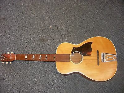 Vintage 1960's Harmony Stella Birch Parlor Guitar-for parts or repair-EZ PROJECT