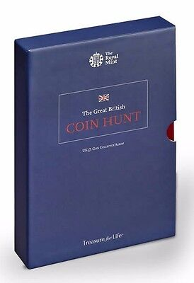 £1 Coin Hunt EXTENDED VERSION Royal Mint COLLECTORS ALBUM (Holds 48) One Pound