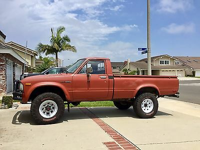1983 Toyota Other  1983 Toyota Pickup 4X4 Long Bed 22R - CA Owned
