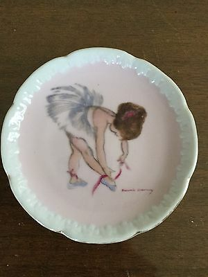 Brownie Downing Miniature Plate