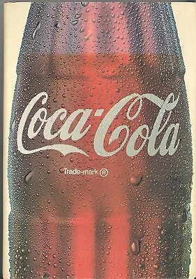 1978 Coca Cola An Illustrated History Hardback Book.. Signed  by Pat Watters