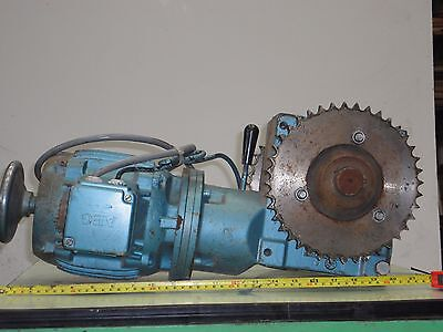 Reduction gearbox and motor 50/1 i.ikw