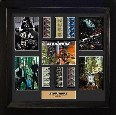 Star Wars Episode VI Return of the Jedi Large Film Cell Montage Special Edition