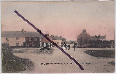 Gorey, Co. Wexford, Ireland: Social History: Colour printed postcard c.1908