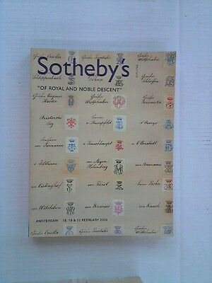 Sotheby's of Royal and Noble Descent Sotheby's: