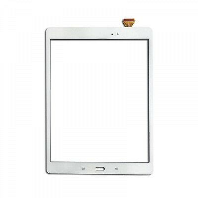 "Samsung Galaxy Tab A 9.7"" T550 T551 T555 Glass Lens Digitizer Touch Screen White"