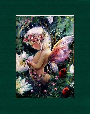 Adorable Matted Fairy Art * Creechers * Babe In The Woods