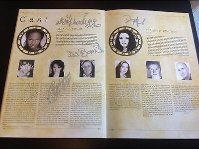 Wicked the Musical SIGNED Programme. London Cast 2008 including Alexia + Dianne.