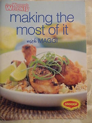 Womens Weekly mini cookbook MAKING THE MOST OF IT WITH MAGGI