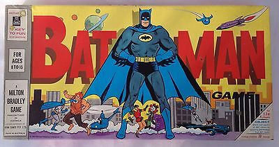 Vintage Retro Board Game Batman In Excellent Condition 1966 John Sands