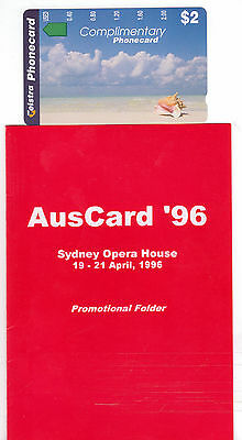 Rare/scarce Pristine Mint $2 Auscard 96 Pack Issued 700 Investment Quality 1/3